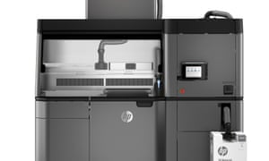 HP's Jet Fusion 3200 3D printer.