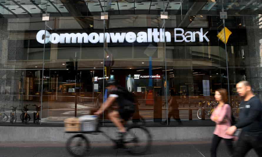 Commonwealth Bank sign