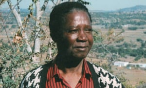 """Lawrence Vambe in Zimbabwe, 1985. His byline as a journalist, """"Zingese"""" (which he translated as madcap bumblebee), reflected the stinging nature of his political commentaries."""