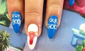 Socially conscious nail art