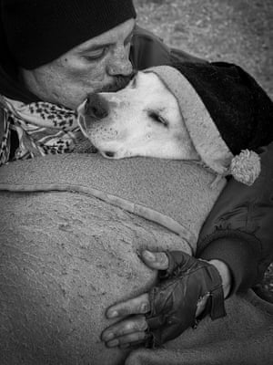 Polina Ulyanova, from the US, has won third place in the man's best friend category
