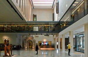 The Weston Library, designed by Wilkinson Eyre.