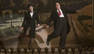 Steve Coogan as Stan Laurel and John C Reilly as Oliver Hardy in Stan & Ollie.