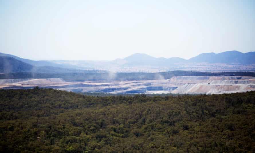 Boggabri coal mine in the Leard State Forest