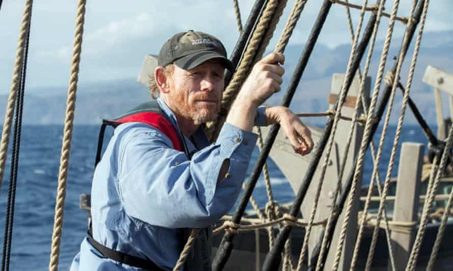 Director of In the Heart of the Sea Ron Howard, says 'I'm not that crazy about the ocean, but there's something about this place …'