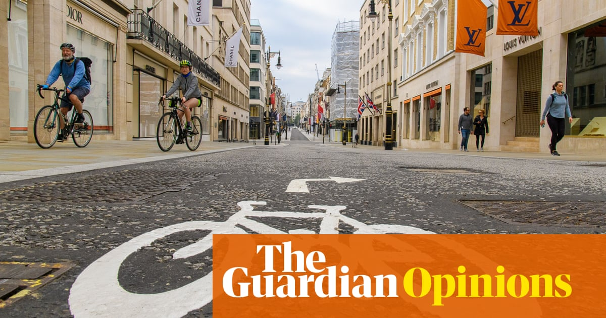 The Guardian view on Covid-19 and transport: walk to the future