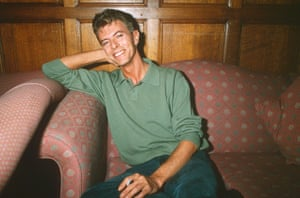 David Bowie in 1991