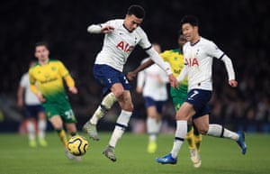 Dele Alli and Son Heung-min
