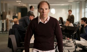 Benedict Cumberbatch as Dominic Cummings in a new drama about the data-driven political campaign for Brexit.