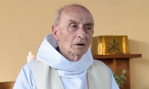 Jacques Hamel celebrating a mass in June 2016.