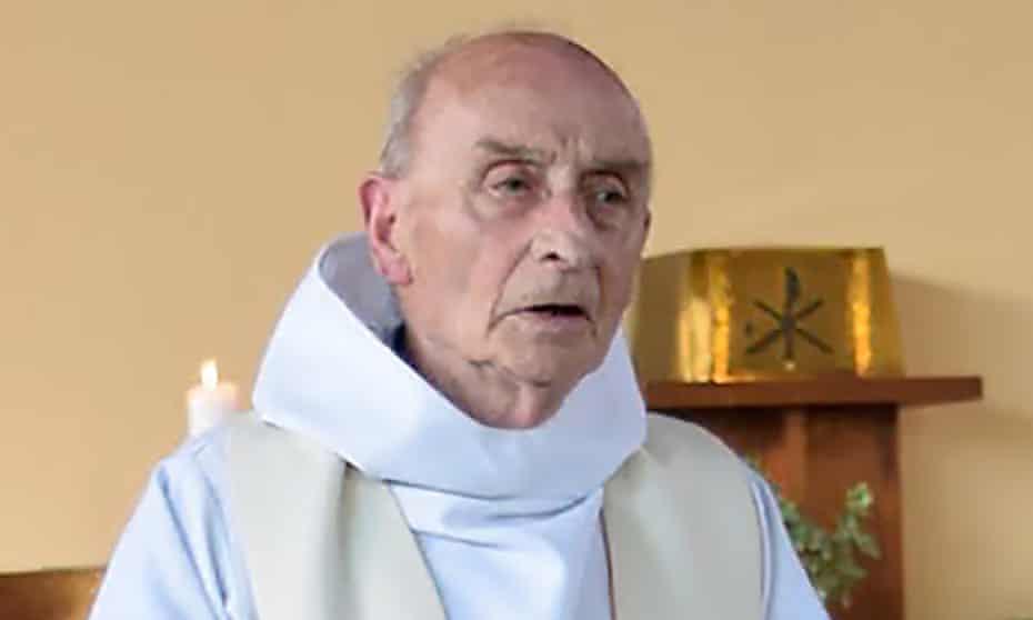 Jacques Hamel celebrating a mass in June 2016.