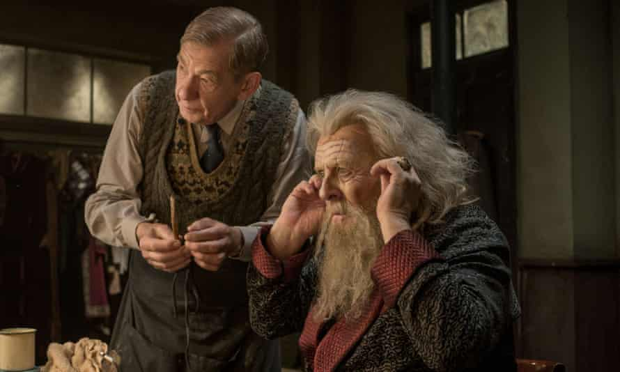 'One of the best times of my life' … with Anthony Hopkins in The Dresser.