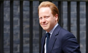 Ben Gummer arrives at Downing Street today.