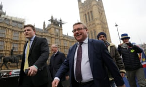 Mark Francois outside parliament