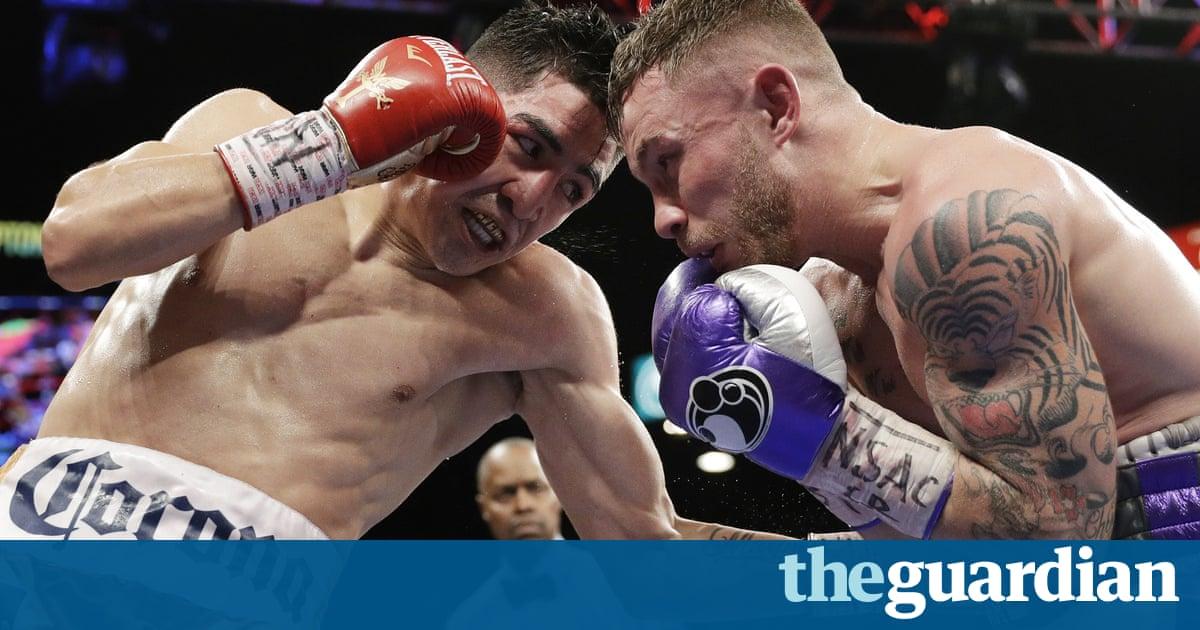 Lo Santa Cruz bests Carl Frampton in rematch for WBA featherweight title