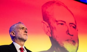 Jeremy Corbyn at the National Manufacturing Conference in london