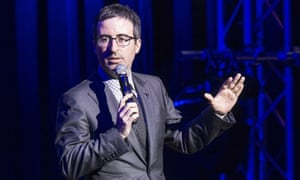 'There was a connection' … John Oliver.