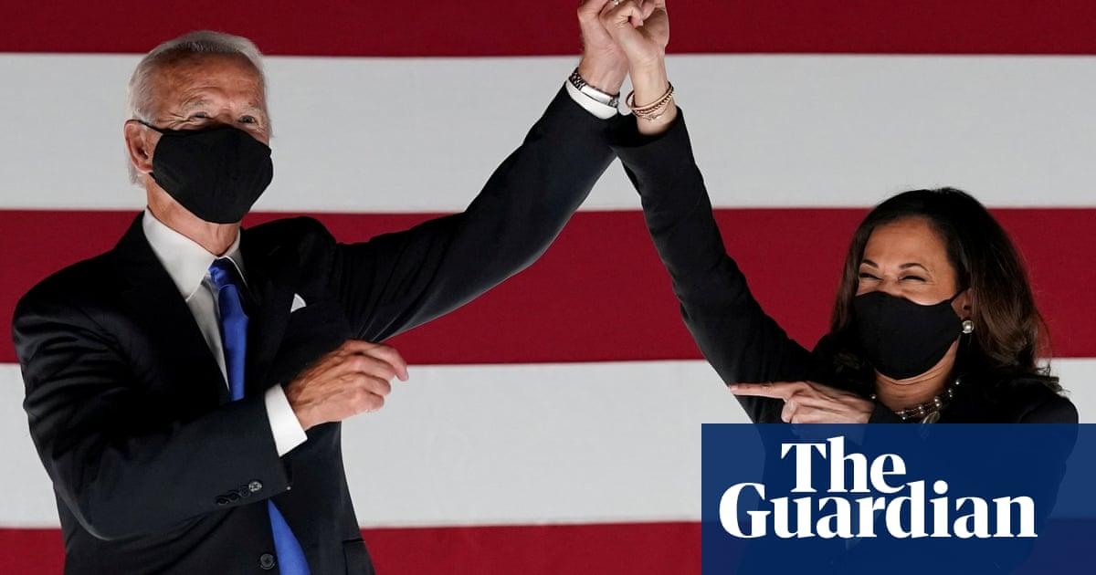 Joe Biden and Kamala Harris named Time magazines 2020 person of the year