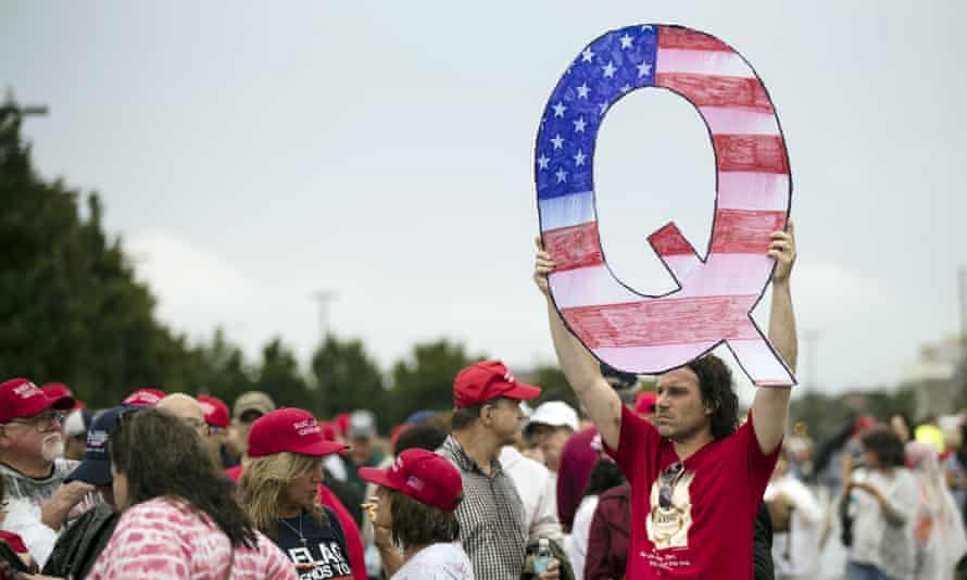 Twitter on Tuesday announced a broad crackdown on accounts and content related to the QAnon conspiracy theory.