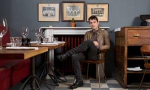 Jackson Boxer, chef-patron of Brunswick House in London.