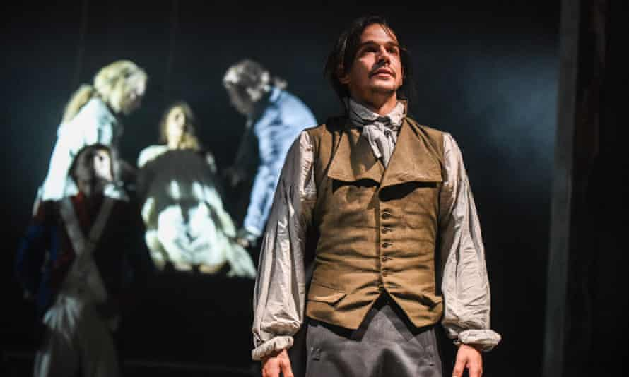 Joseph Timms as Sydney Carton in the Royal and Derngate, Northampton's production of A Tale of Two Cities.