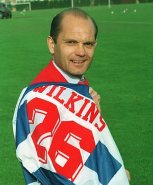 Ray Wilkins promised to 'put the smile back' into QPR when he returned to the club as manager in 1994 but his intelligence and leadership skills did not bring success.