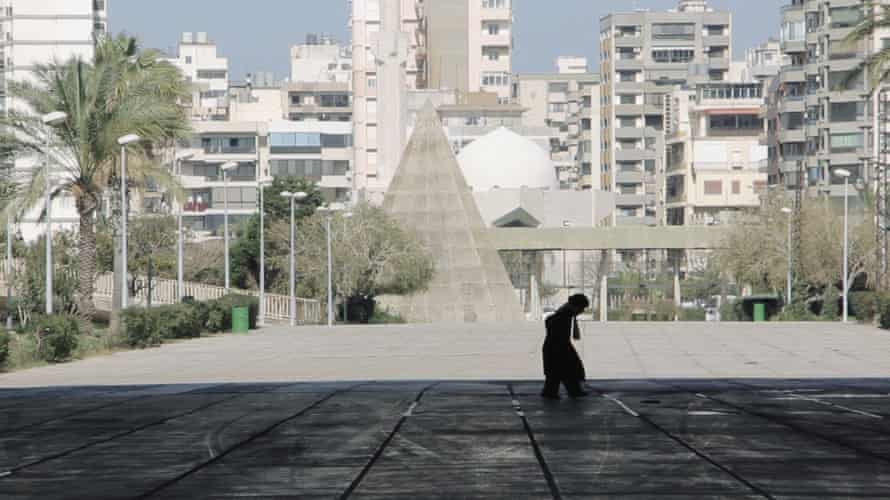 A still from Concrete Forms of Resistance