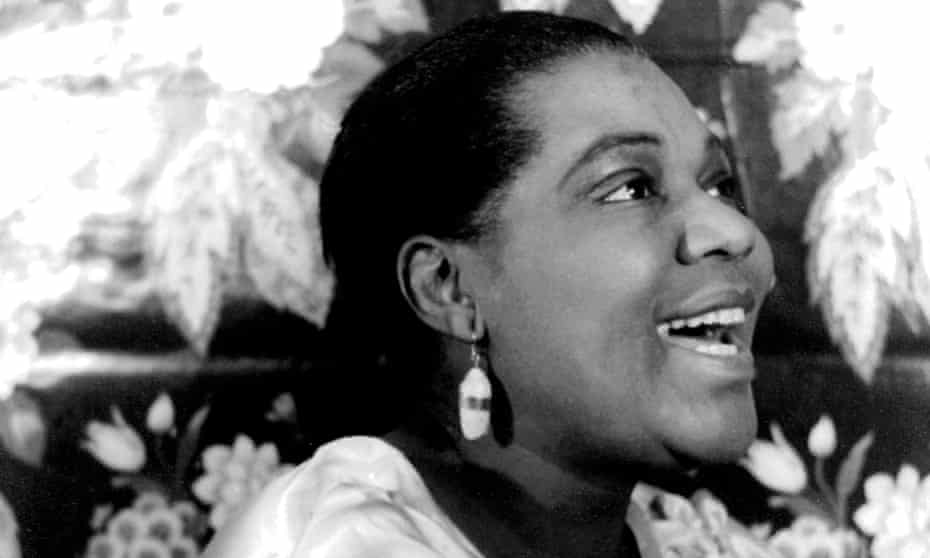 'I stroked her proud, defiant cheeks' … Bessie Smith in 1930.