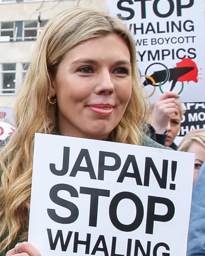 Image result for Carrie Symonds anti hunt