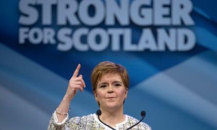 Scotland first minister Nicola Sturgeon.