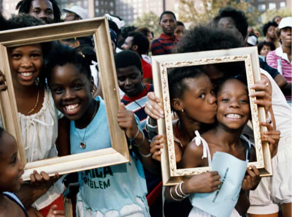 All in the frame … Art Is (Girlfriends Times Two), 1983/2009, by Lorraine O'Grady