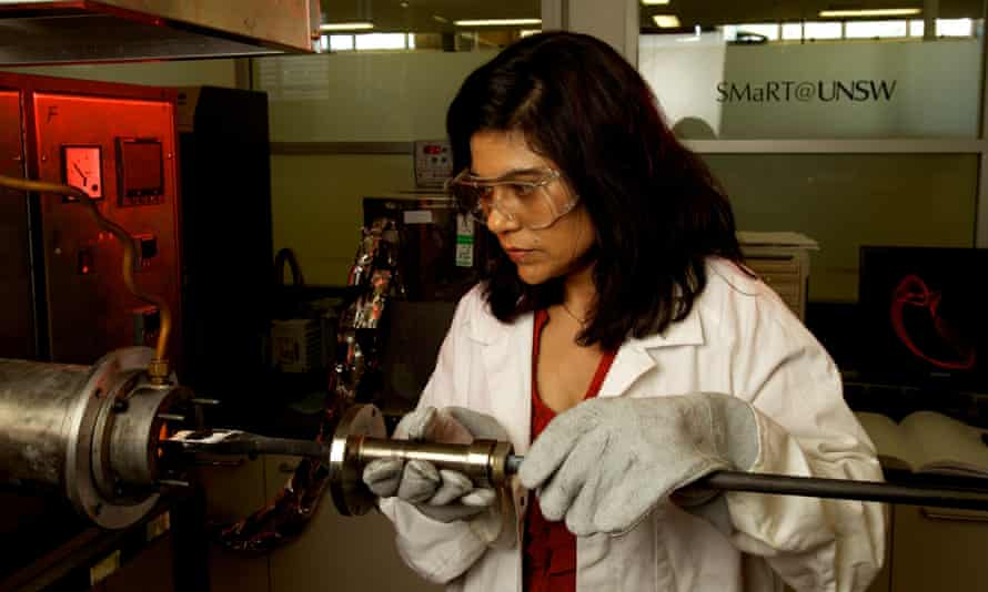 Professor Veena Sahajwalla is researching ways to recycle smart phones and computers