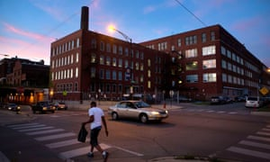 The Chicago police department's Homan Square facility is on the city's west side.
