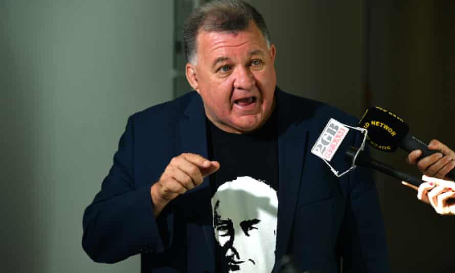 Liberal member for Hughes Craig Kelly