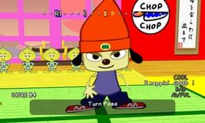 Parappa the Rapper.