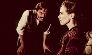 Jonathan Firth and Tara Fitzgerald in Gaslight at the Royal and Derngate
