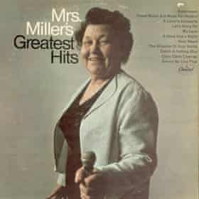 The cover of Mrs Miller's Greatest Hits, released in 1966.