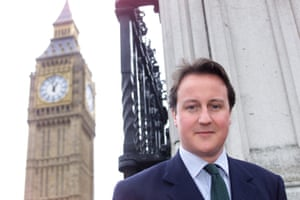 David Cameron in Westminster, 2002