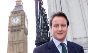 David Cameron in 2002.