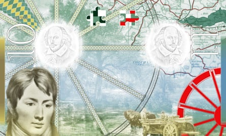 John Constable as he appears on the pages of the new UK passport