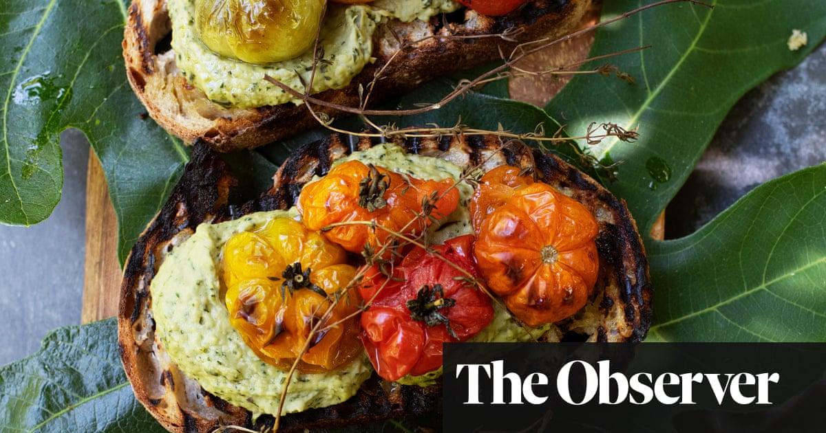 Nigel Slater's recipes from a summer herb garden