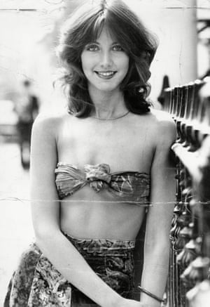 Sheila Caffell, in her modelling days. She and her twin sons were murdered.