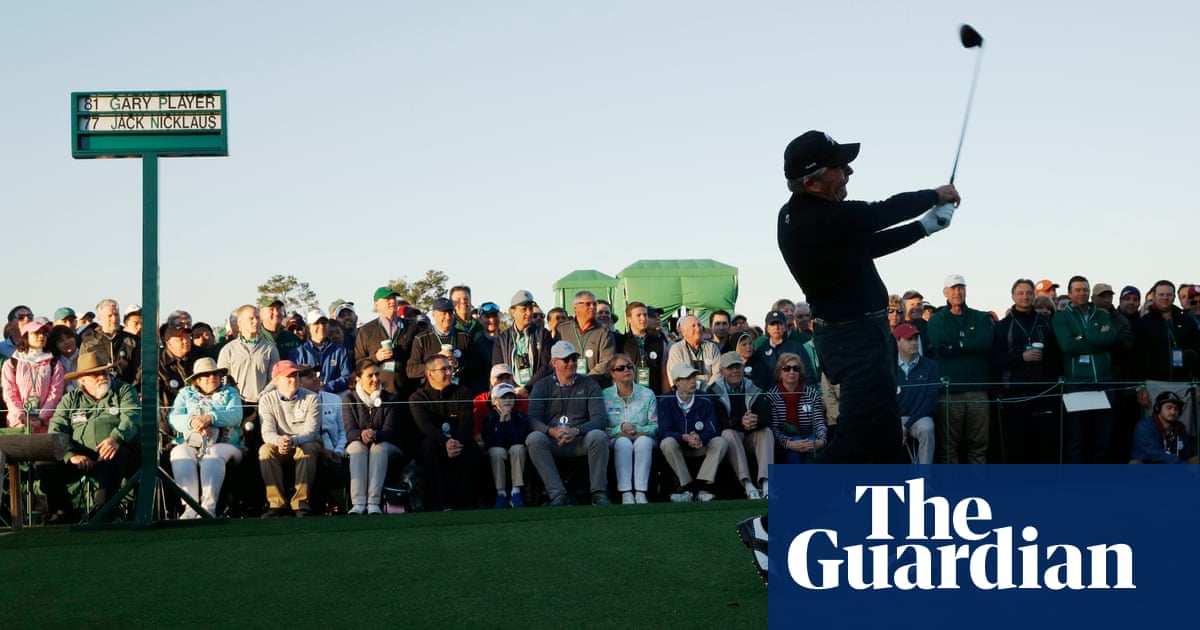 2ef1893f Gary Player: 'I became a champion because I knew what it was to suffer'