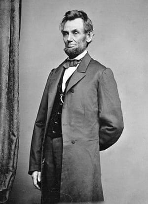 Immense pathos … President Abraham Lincoln.