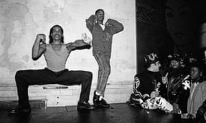 The king ... Willi Ninja (left) and a dancer voguing at Mars nightclub in New York City, 1988.