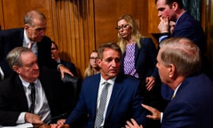 The scene after Flake's intervention.