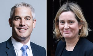 Stephen Barclay and Amber Rudd.