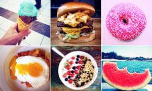 Instagram pictures composite