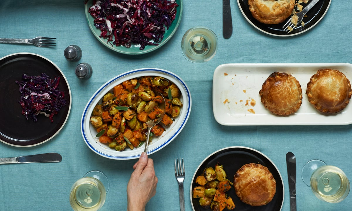 The recipe for a vegetarian Christmas feast | Feasting | Life and ...