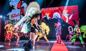 Don't forget the unicycle … a scene from Fashion Freak Show.